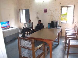 झाँसी का मीडिया सेंटर सूचना अधिकारी गायब